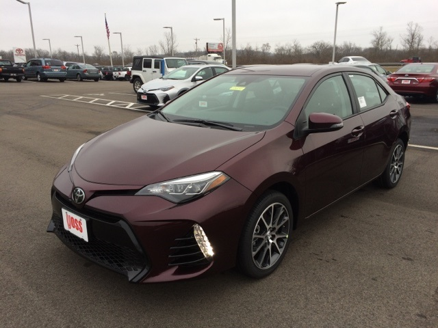 new 2017 toyota corolla 50th anniversary special edition 4d sedan in dayton t8241 voss toyota. Black Bedroom Furniture Sets. Home Design Ideas